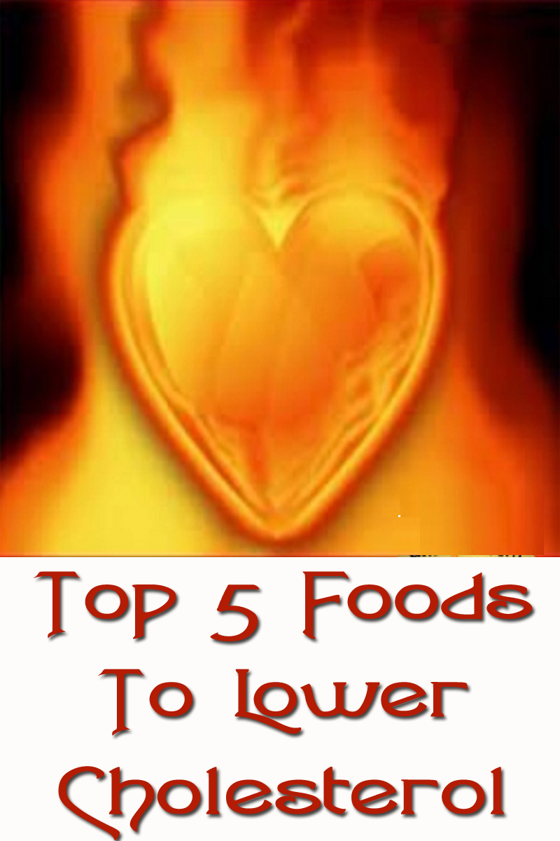 Top 5 Foods To Lower Cholesterol