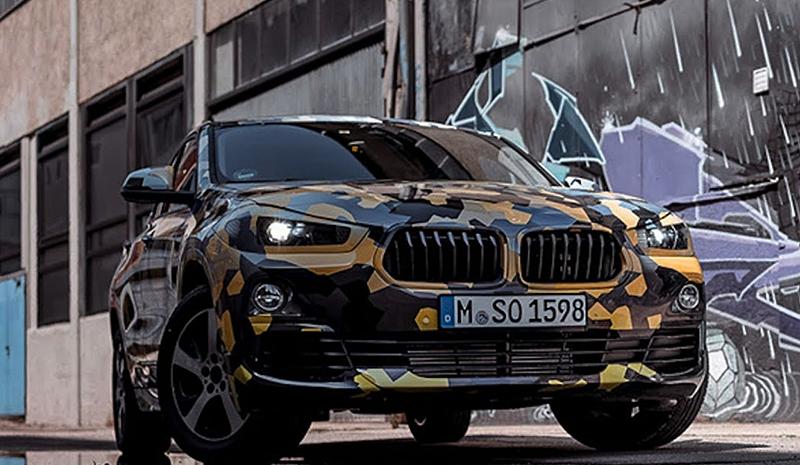 2018 BMW X2 Urban Jungle Camouflage Design