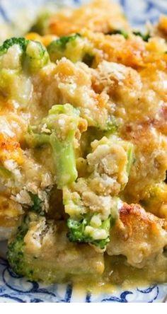 Broccoli Cheddar Chicken
