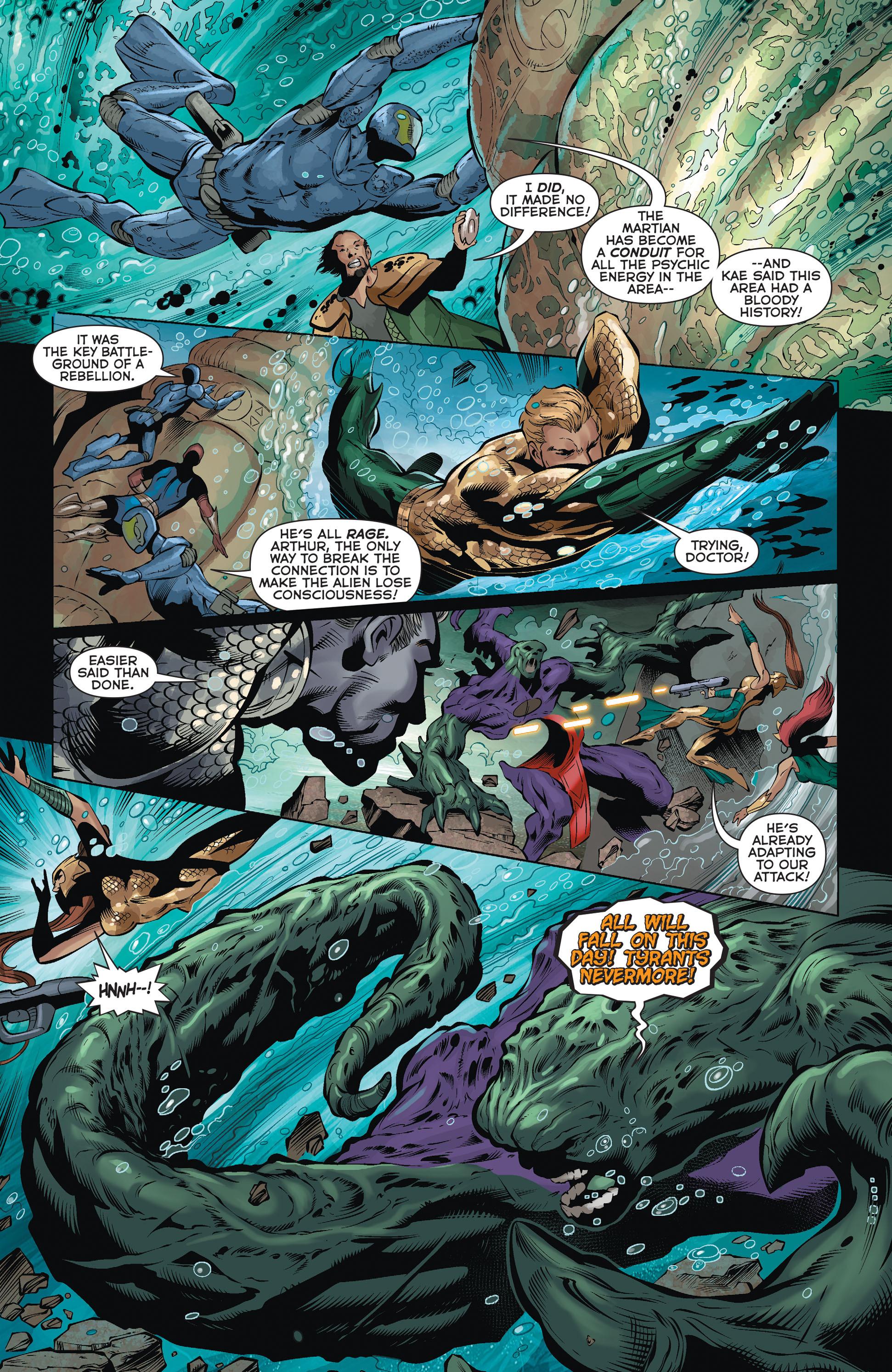 Read online Aquaman (2011) comic -  Issue #36 - 16