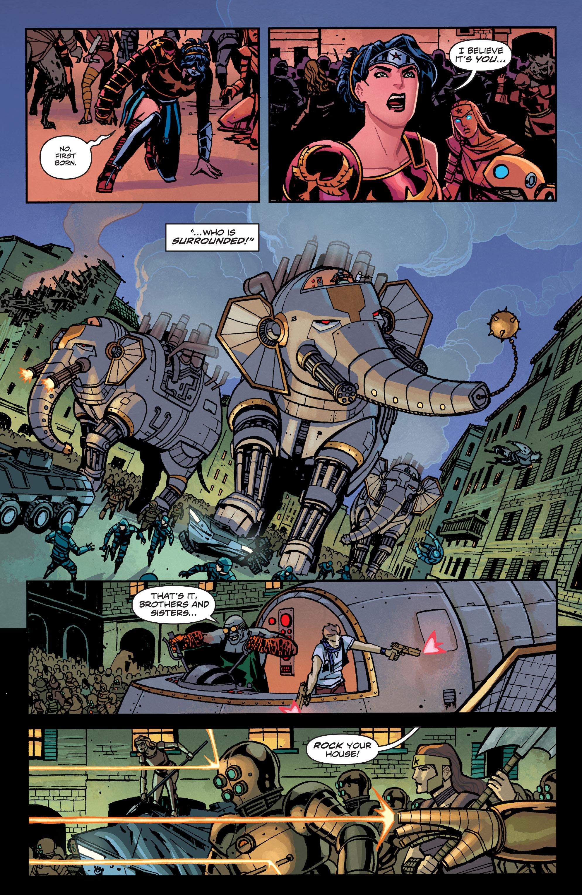 Read online Wonder Woman (2011) comic -  Issue #34 - 14