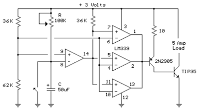 Time Delay Circuit Diagram