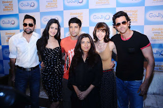Abhay Deol at GoJiyo Event Movie promotion
