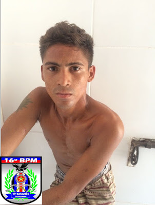 PM prende assaltante na cidade de Urbano Santos