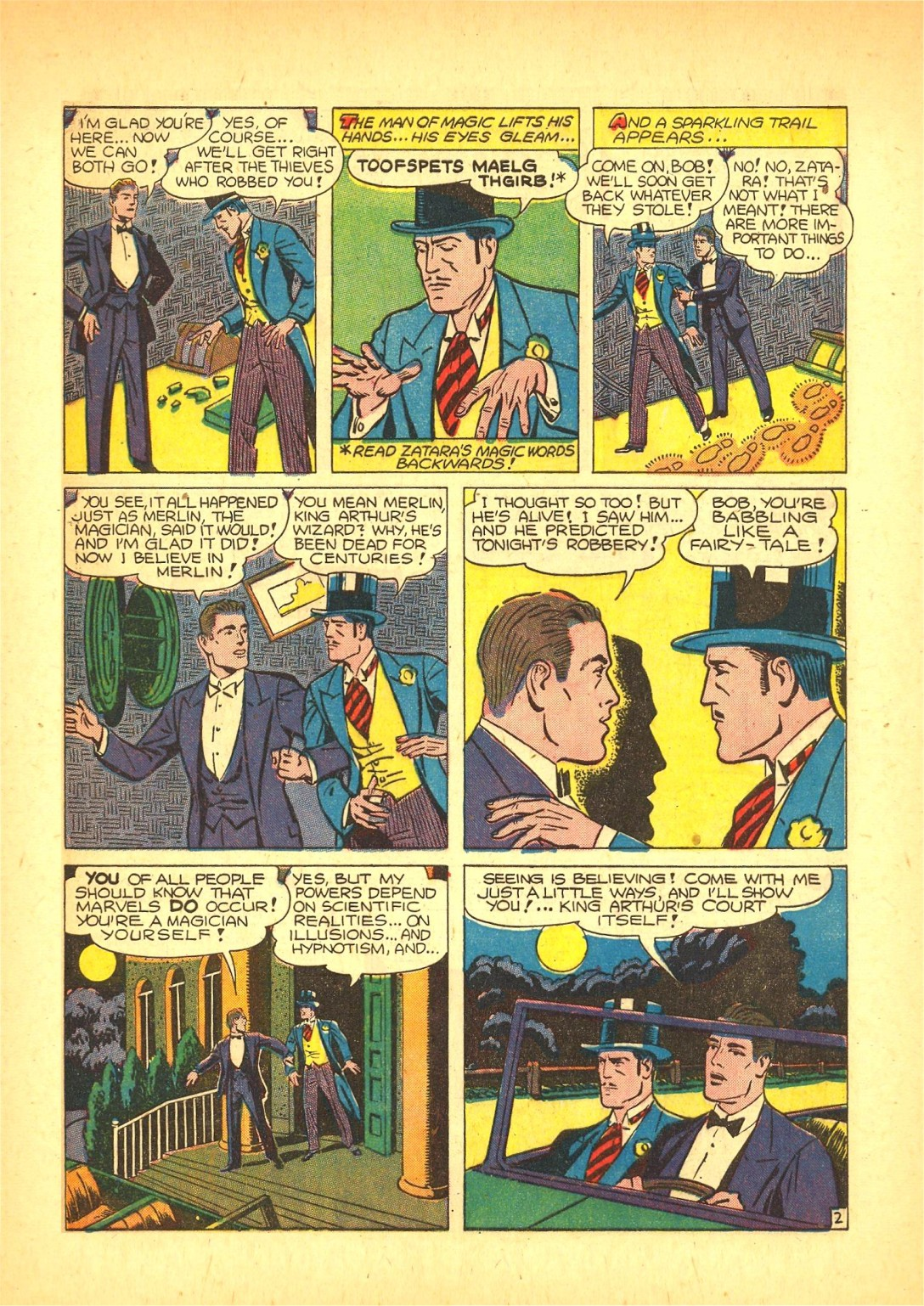 Read online Action Comics (1938) comic -  Issue #72 - 50
