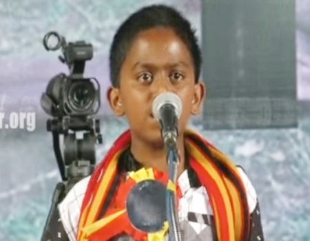Naam Tamilar Siruvan Speech