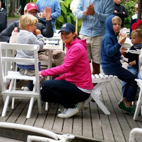 Princess Victoria, Princess Estelle And Prince Daniel At Island Of Öland