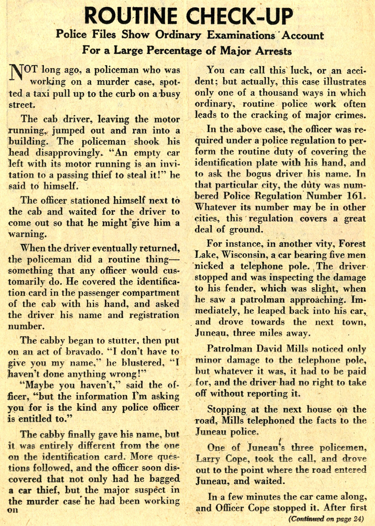 Read online Detective Comics (1937) comic -  Issue #236 - 22