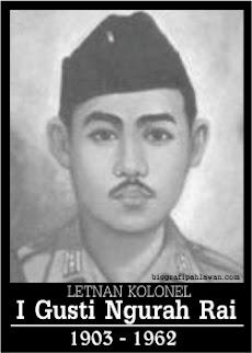 Sejarah Pahlawan Perjuangan Indonesia I Gusti Ngurah Rai