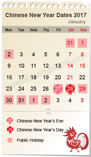 Chinese New Year Calendar Meanings : Xing fu chinese new year eve