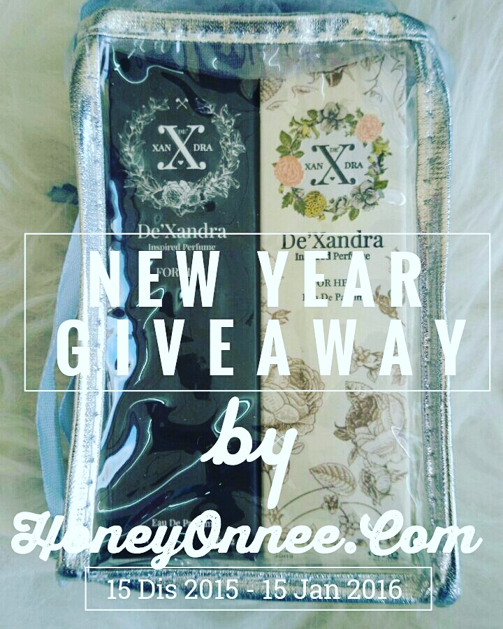 New year Giveaway By Honeyonnee.Com