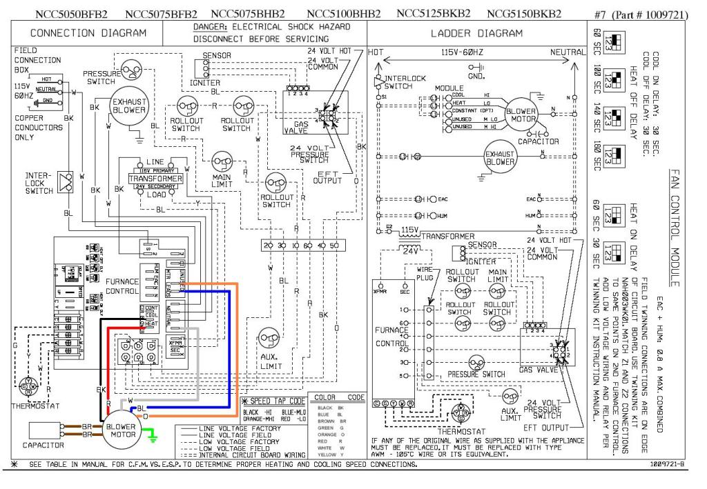 Schematic For Amana Gas Furnace Wiring Diagram on ruud thermostat wiring diagram