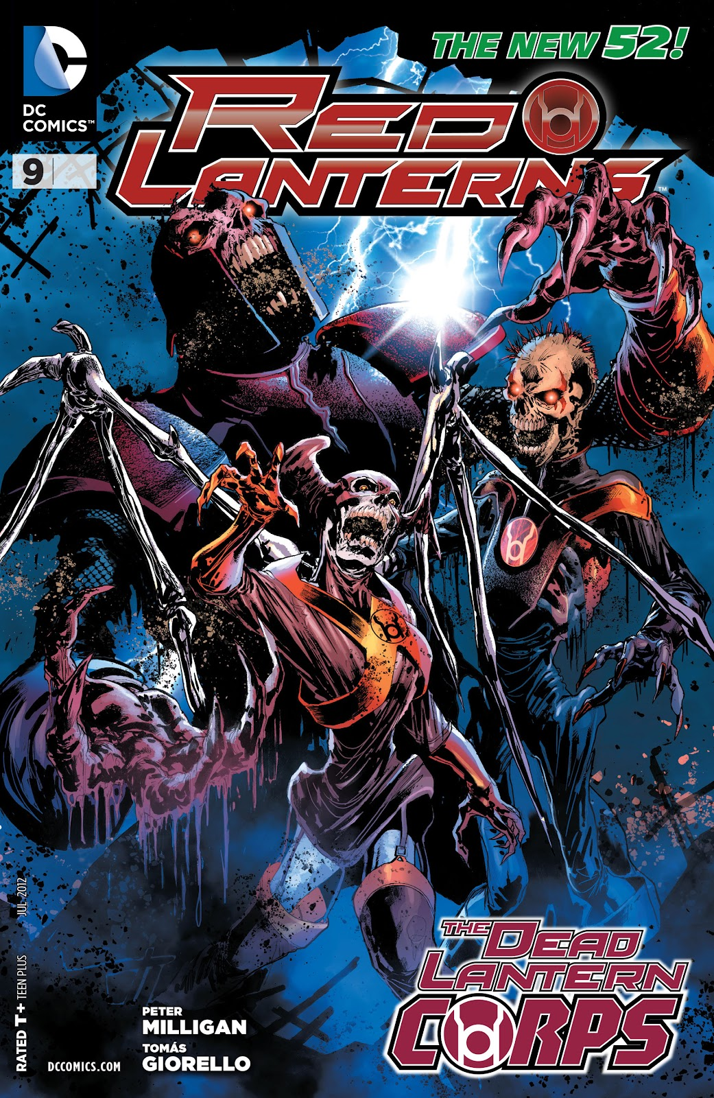 Red Lanterns issue 9 - Page 1
