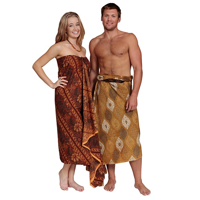 1 World Sarongs Traditional Batik Wraps