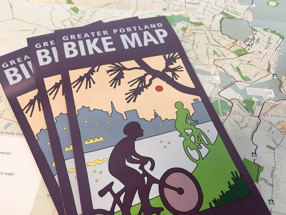 Rights of Way: Portland, Maine Bike Map – 2nd Edition