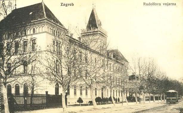 Zagreb Nekada Rudolfova Vojarna