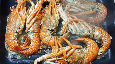 grilled lobster by dapurngepul.com