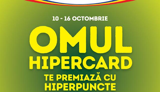 Omul HiperCard te premiaza cu HiperPuncte!