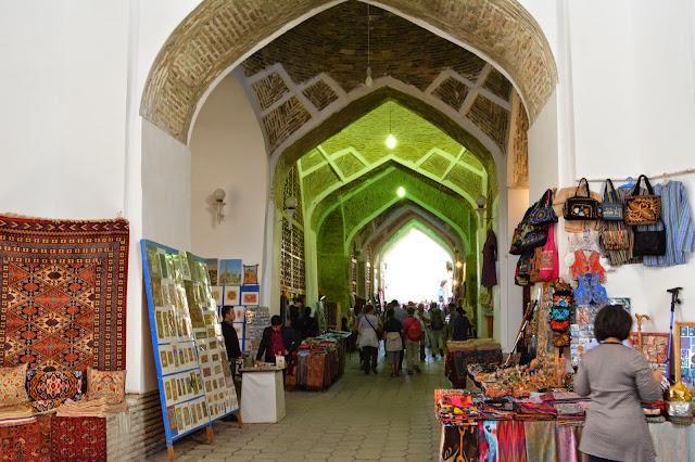 özbekistan çarşı pazar