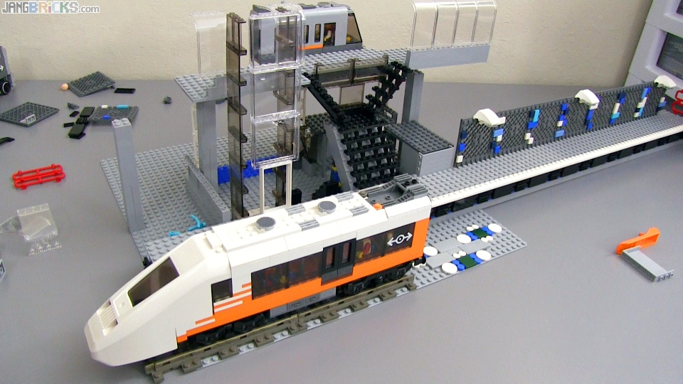 First LEGO Train Station MOC progress video
