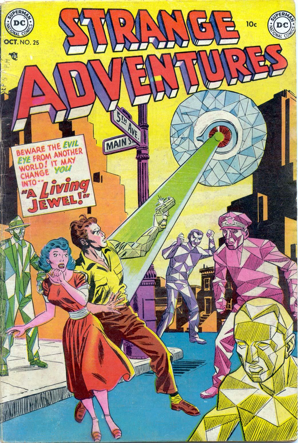 Strange Adventures (1950) issue 25 - Page 1