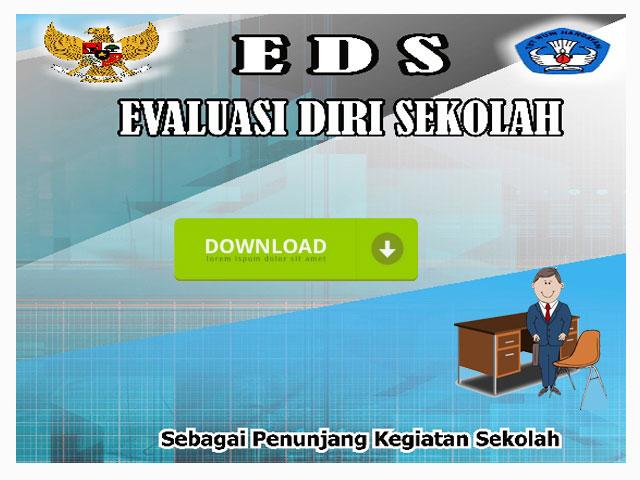 Aplikasi Evaluasi Diri Sekolah  (EDS) SD/MI dan SMP/MTS Berektensi Exe