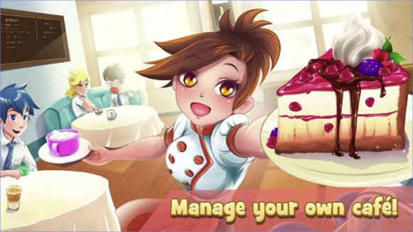 Dessert Chain Café Waitress Mod Apk Unlimited Money Terbaru
