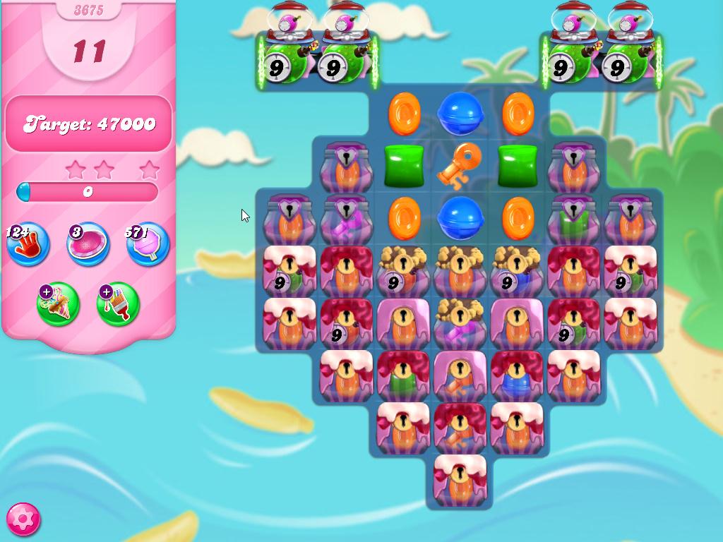 Candy Crush Saga level 3675