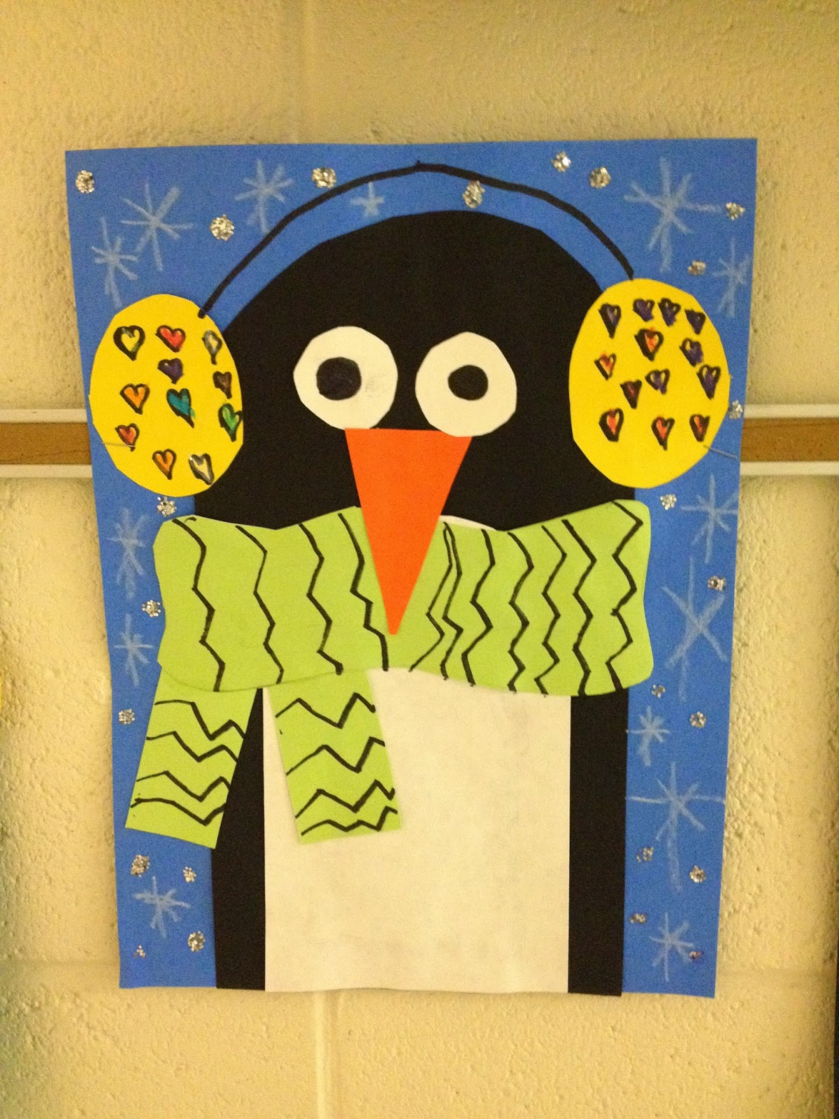What S Happening In The Art Room 1st Grade Penguins