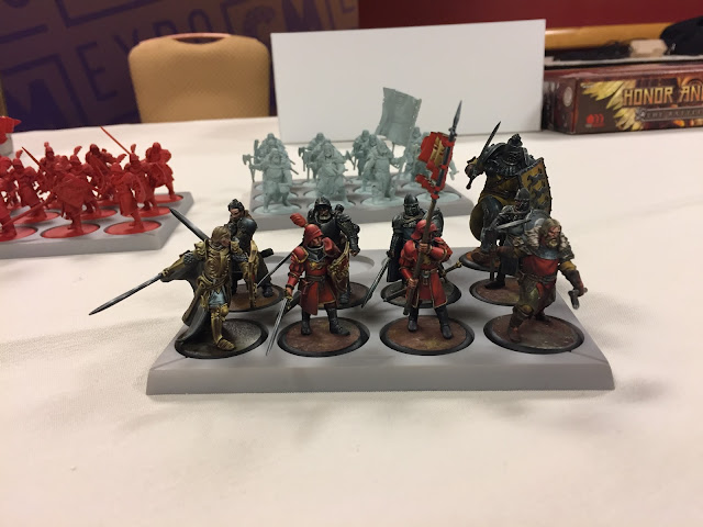 Cool Mini or Not: A Song of Fire and Ice Miniatures Lannister Game of Thrones