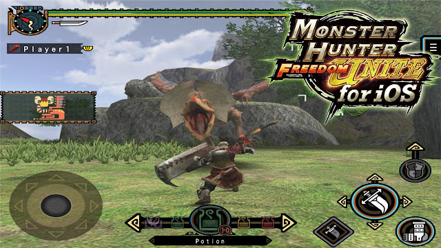 Game Monster Hunter Freedom