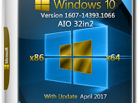 Windows 10 AIO 32in1 v1607 by Adguard Update April 2018
