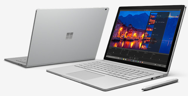 Microsoft Surface Book Core i7 Processor offers 16 Hours of Battery Life