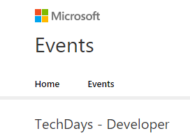 Techdays-Developer
