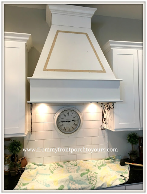 Farmhouse-Kitchen-DIY-Custom Range Hood-From My Front Porch To Yours