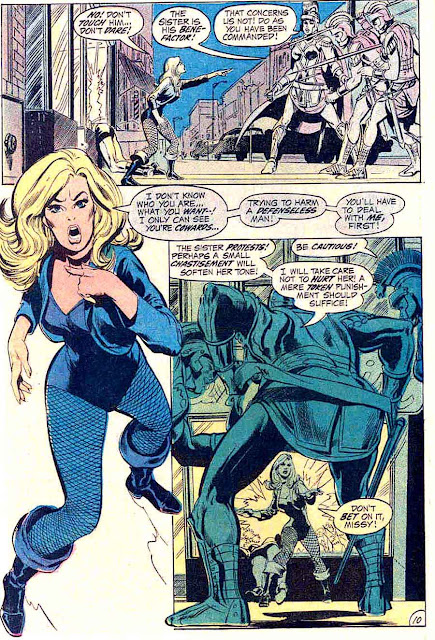 Green Lantern Green Arrow #82 dc comic book page art by Neal Adams