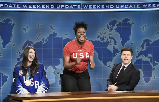 Current Not Ready For Primetime Player Leslie Jones Hopes Comedians and 'SNL' Can Move Past Constant Trump Jokes