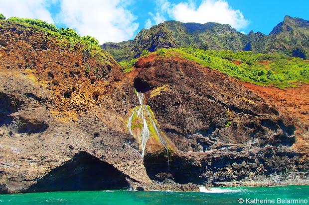 Catamaran Tours Na Pali Coast Hawaii Kauai