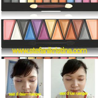 (Review) Eyeshadow Implora Harga Dibawah 20K!