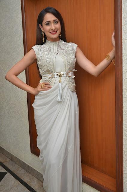 Actress Pragya Jaiswal at Gunturodu Audio Launch