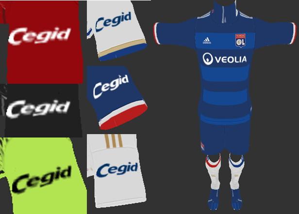 PES 2013 Olympique Lyon 2016-17 Full GDB V.3 (BY ABIEL & LUAN17 & ANTONELLI)