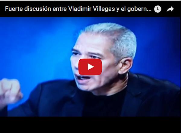 Vladimir Villegas le dio con todo a este gobernador del PSUV