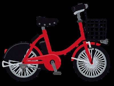 シェア自転車のイラスト