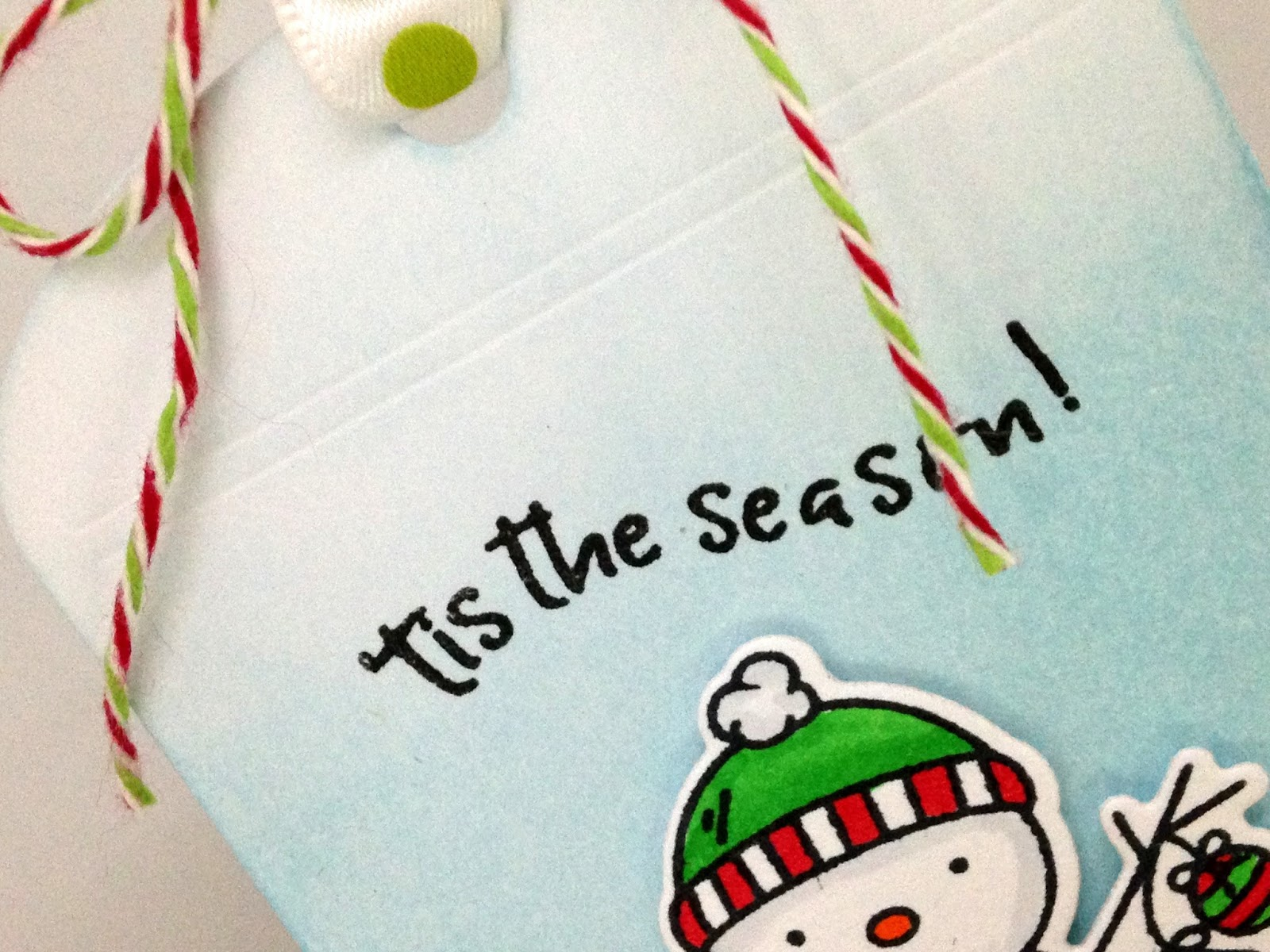 Cupcakes, Cards and Kim: The 25 Days of Christmas Tags with Tracey ...