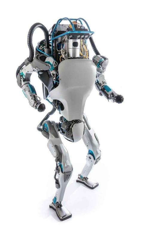 O robô Atlas da Boston Dynamics impressiona pela técnica mas é menos autônomo que uma mísera barata.