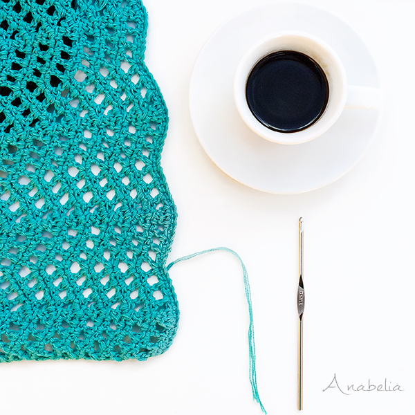 Anabelia craft design: Mini Mandala, a funny weekend crochet project