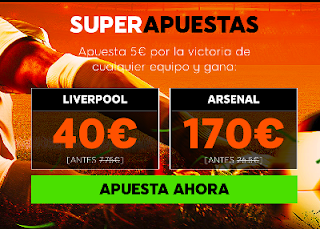 888sport superapuestas Liverpool vs Arsenal 29 diciembre