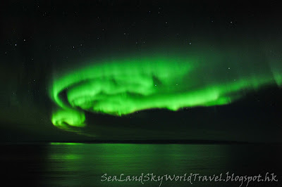 Hurtigruten郵輪上, 北極光, aurora, northern light