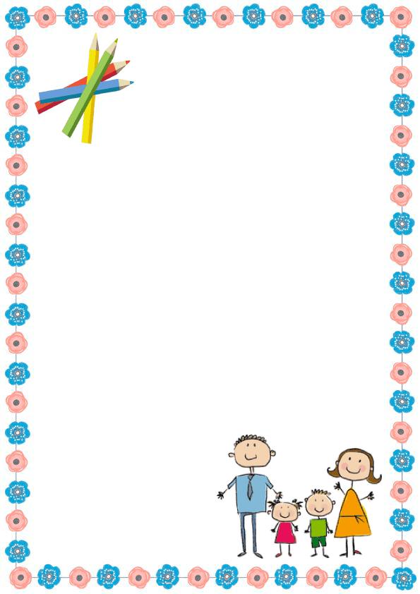 Caratulas de cuadernos para niños y  niñas de inicial de fafilia feliz