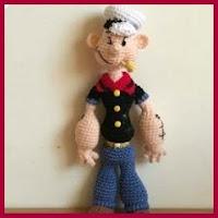 Popeye amigurumi